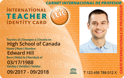 isic card template - teacher discount card international teacher identity